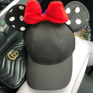 Minnie ears Disney baseball hat